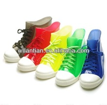 Fashion PVC jelly boots water transparency