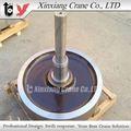 indústria metal aço roda de locomotiva para manuseio de chapas de aço
