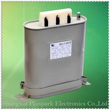 low voltage shunt Capacitor 300V 10Kvar,Self healing Capacitor 300Vac 10kvar 118uF*3,power factor capacitor 300V