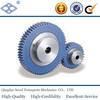 JIS standard PU1-30 m1 plastic hub spur gears with stainless steel core