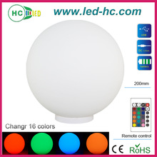 Table Lamps 0.2w led round ballGlass CE, RoHS, UL, RoHs holiday creations led New style home decoration Ball lighting light ch