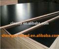 Fenólicos negro película hizo frente a la madera contrachapada precio, paneles de encofrado