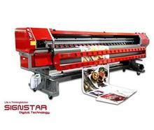 3.2m large format solvent printer with 512 spectra polaris