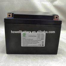 long life span 12v 35Ah lithium lifepo4 tourist car battery pack