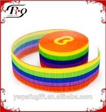 rainbow party streamer