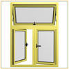 Waterproof and european style aluminum awning windows,bottom hung window