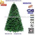 De alta calidad! 2014 verde del árbol de navidad de pvc& pe y una variedad de color