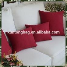 felt flower cushion cover