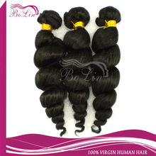 pretty international trading Indian cheap human hair weft extensions
