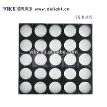 25*10w led stage light, led matrix blinder panel for background