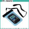 promotional eco-friendly custom waterproof pvc mobile phone bag