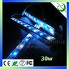 3w chip aluminum white and blue diy UV led aquarium light fixture