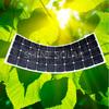 Tough and durable high efficiency semi marine flexible solar PV panel