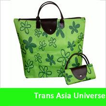 Hot Sell Nylon foldable Shopping bags