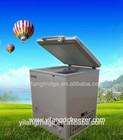 158L 2014 NEW Solar powered chest type deep freezer / deep freeze fridge