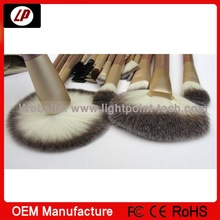 Fashion promotional high quality end makeup brushes free samples 18pcs professional custom logo makeup brushes private label