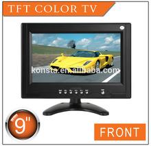 "9"" inch HD LCD Monitor with TV & AV input, LED backlight LD-951"