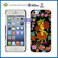 Wholesale Fashion Design factory make plastic hard case for iphone 5