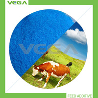 china manufacturer animal additive cattle feed copper sulphate