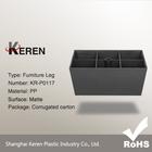 Cheap Quadrate Plastic Sofa Legs for Wholesale