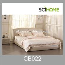 Modern Bedroom Set Designs Soft Leather Bed King Size
