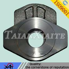 carbon steel lost wax precision casting machining parts concrete mixer spare parts