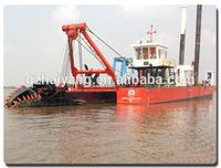 China 5000 cbm/hr cutter suction sand dredger