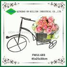 Hot sell cheap wicker bike basket decoration