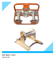 Die casting cable roller