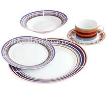 handmade porcelain dinnerware