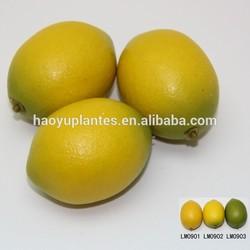 Charms make artificial lemon fruit for decoration