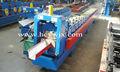 amplamente utilizado cor perfil de aço gutter dá forma à máquina
