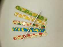 Fantastic All kinds of fruit design Nail files with custom design and printing