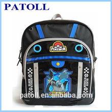 Stylish student backpack 2012 new school bag