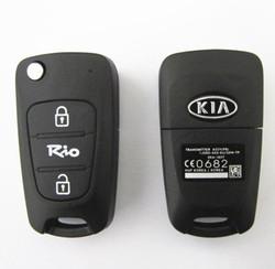 Topbest kia Rio car remote key 433mhz no chip kia smart key