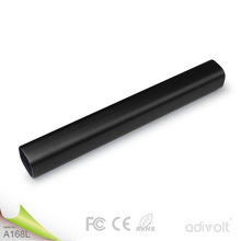 tube power bank charger power bank tube, 5200mah mini tube 18650 usb power bank