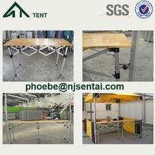 1.5m 3m Camping alum folding table