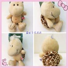 Custom cute soft plush sea turtle keychain toys