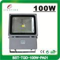 de alta potencia de 100w industrial led de luces de inundación