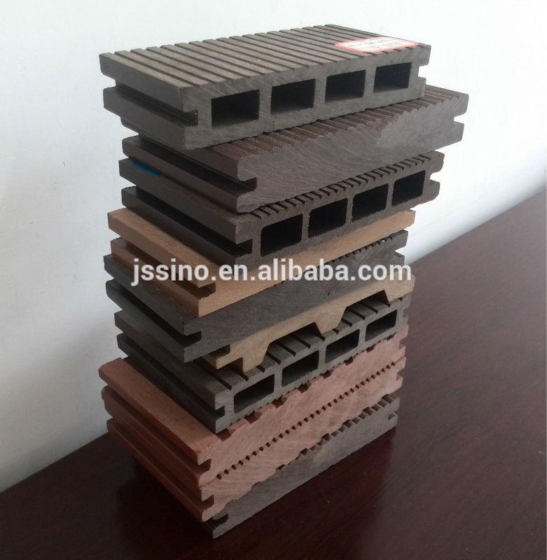 en plastique pont revêtement de sol  terrasses en bois composite[R