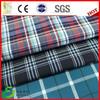 Polyester viscose yarn dyed check uniform fabric usa