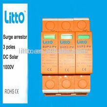 1000V DC Surge Protector SPD 20-40KA For Solar Mounting System