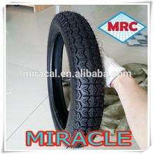 China de alta calidad 3.00-18 3.00-18 neumático de la motocicleta de mrf