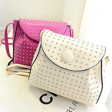 lady handbag manufacturers cross body messenger bags fashion studded bag E607