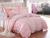 KOSMOS- 100% cotton pink cute king size bedding set manufacturer in china
