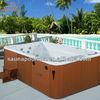 ROM4022 House design fiberglass pool