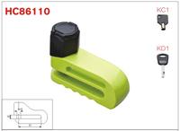 HC86110 black dustproof cover good qulity lock dody best disc brake lock