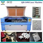 co2 laser die board cutter / wood mdf laser cutting machine QD-1490/QD-1410
