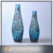 2015 New Design Clear Glass Floor Vase