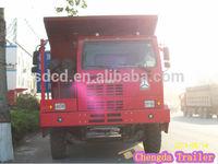 sino truck 6x4 100 ton heavy mining dump truck